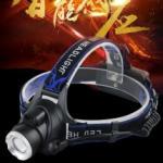 Led Headlight Индуктивен силен фенер за глава с лампа на миньор за дълги разстояния fl23