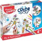 Maped Set Creativ Color & Play Puzzle Maped 907001 (907001)