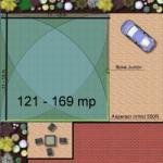 Hunter Kit irigare gazon 121-169 m2 Hunter cu programator pe baterie 9V