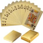 Tuin Póker műanyag kártya - gold - idilego