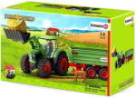Schleich Traktor pótkocsival (42379)