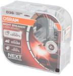 OSRAM Bec auto set 2 bucati D3S 42V 35W PK32D-5 xenon; pana la 20% lumina alba; pana la 200% luminozitate mare; pana la 250m Xenarc Night Breaker Laser 4300K