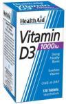 HEALTHAID Vitamina D3 1000 IU 25μg 30 tablete - pharmacygreek - 121,94 RON