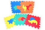 WIKY Blocuri de puzzle moi DINO 30 cm (WKW118641)