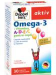 Doppelherz Omega-3+Vitamina A+D+E+C pentru copii (30 comprimate)