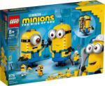 LEGO Minions - Kocka minyonok és barlangjuk (75551)