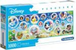 Clementoni Disney klasszikusok panoráma puzzle 1000 db-os (39515)