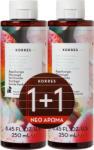 KORRES Промо Душ гел Прасковен цвят , Korres Peach Blossom Shower Gel 2 x 250ml