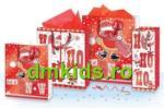 Jad Flamande Punga iarna / Craciun cu rosu si alb Vrabiuta&Mos Craciun L (RWTL)