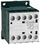 Lovato Contactor tripolar, Curent lucru (AC3) = 9A, DC bobina, 60VDC, 1NO Contact auxiliar (11BG0910D060)
