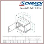 """Schrack Dulap 10"""" 6U 310x337x260mm (DV610006-A)"""