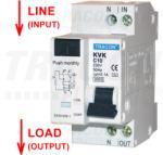 Tracon Disjunctor cu protectie diferentiala, 2P, 2 module, curba B KVKB-25/03 25A, 30mA, 3kA, AC, E3 (KVKB-25/03)