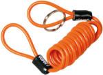 Lampa Cablu spiralat din otel Safety Reminder - 150cm