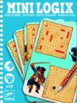 DJECO Joc de logica - Mini logix Djeco batalie (DJ05355)