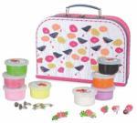 Egmont toys Set de modelaj cu plastilina, bijuterii cu flori (Egm_630592)