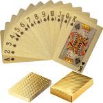 Tuin Póker műanyag kártya - gold - kokiskashop