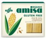 Amisa Organic Crispbread (painici) din orez si porumb fara gluten bio 120g