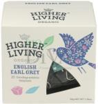 Higher Living Ceai premium English Early Grey Higher Living 20-plicuri