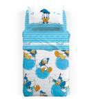 Caleffi La Casa Dei Sogni Lenjerie pat Donald Duck 160x280 cm Lenjerii de pat bebelusi, patura bebelusi
