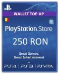 Sony Card Sony PlayStation Store 250 RON - badabum