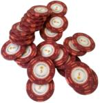 MagazinulDeSah Jeton Poker Montecarlo 14 grame Clay, inscriptionat 5