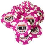 MagazinulDeSah Jeton Poker WSOP Roz, clay 10 grame