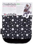 CuddleCo Saltea carucior Comfi-Cush Black and White Stars 842094 - CuddleCo Saltea bebelusi