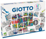 GIOTTO Set pictura pe numere GIOTTO Art Lab Color and Puzzle, 46 piese