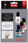 Activejet UK-2 tricolors ink cartridge for use in 3x30ml Supreme