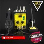 Gordak Statie de lipit cu aer cald si letcon Gordak 968 (968)
