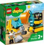 LEGO Duplo - Teherautó és lánctalpas exkavátor (10931)