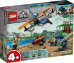 LEGO Jurassic World - Velociraptor: Kétfedelű repülőgépes mentőakció (75942)