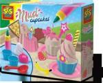 SES Creative Set Briose ( Culoare Nisip Roz 7 Accesorii De Plastic Decoratii Din Spuma ) - Ses (S02213) (S02213) Bucatarie copii