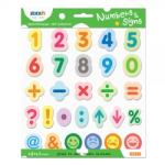 Stick'n Set educativ Numbers & Signs STICK'N (9462)