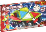 Supermag Set constructie magnetic 143 piese Tags Wheels Supermag
