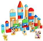 Disney Construieste cu cuburi colorate de lemn si personajele Disney