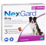 Merial NexGard L comprimate masticabile, 10-25 kg, 3 comprimate