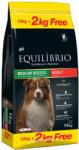 Equilibrio Adult Dogs, cu Pui, 12 + 2 Kg