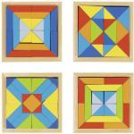 Goki Mozaic din lemn Goki - Lumea formelor (57572)