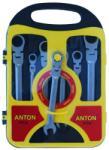 UNI Тресчотни звездогаечни ключове с чупещо рамо 8-19mm ANTON