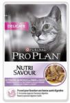 PRO PLAN Delicate Nutrisavour Sos cu curcan, 24x85 g