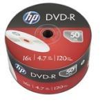 HP DVD-R lemez 16x, Zsugor csomagolás x50 (DVDH-16Z50)