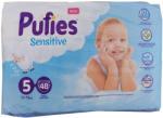 Ficosota PUFIES sensitive бебешки пелени, номер 5, 11-16кг, 48 броя