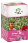 Organic India Ceai Tulsi Trandafir Dulce, Organic India, 18 plicuri