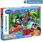 Disney 3D пъзел 104 части Mickey Mouse Club House CLEMENTONI