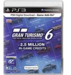 Game Кредити за Gran Turismo 6 2.5 Million In game credits HU за PlayStation 3