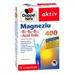 Doppelherz Magneziu 400 + B1 + B6 + B12 + Acid folic Doppelherz aktiv, 30 comprimate, Queisser Pharma (FSH610)