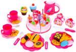 MalPlay Set de joaca MalPlay Tort Roz cu lumanare interactiva fursecuri si accesorii 80 piese Bucatarie copii