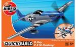 Airfix Kit Cosntructie Airfix Quick Build Avion D-Day P-51D Mustang (AFJ6046)