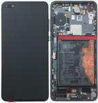 Huawei Ecran Display Huawei P40 Negru Original Service Pack (02353MFA)
